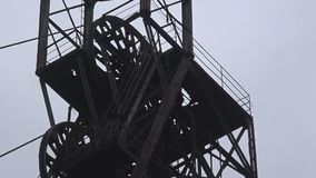 Headframe, mina de carbón metrajes