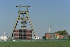 Headframe of Schacht Konrad Stock Image