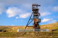 Headgear шахты руководства грабл рощи стоковые изображения