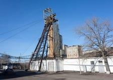 Headgear coal mine Royalty Free Stock Photography