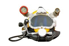 Mask for scuba diving. Stock Photo