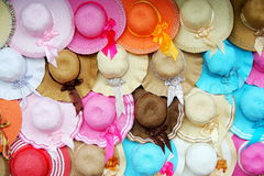 Headgear. The head cap worn with turnovers Royalty Free Stock Image
