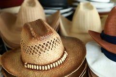 Headgear style. At market water in Rachaburi province of Thailand Stock Image