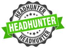 headhunter foka znaczek ilustracja wektor