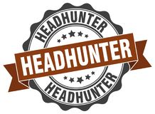 headhunter foka znaczek royalty ilustracja