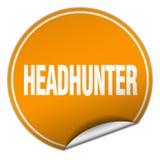 headhunter majcher ilustracja wektor