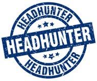 Headhunter znaczek ilustracji
