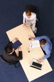 Headhunting - entrevue d'emploi Image libre de droits