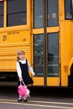 Heading Home from School Stock Images
