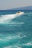 Heading Offshore Royalty Free Stock Photo