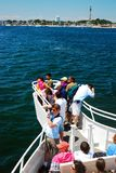 Heading out on a cruise royalty free stock images