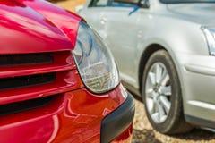 Headlamp автомобиля Стоковая Фотография