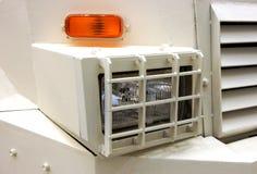Headlamp военного транспортного средства Стоковое фото RF