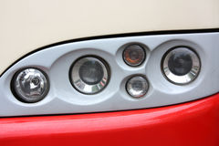 Headlamp. Background possible to use for printing and project Royalty Free Stock Photos