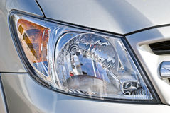 Headlamp  Stock Photo