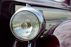 Headlamp of the car Royalty Free Stock Photography