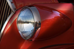 Headlamp The Grille Stock Photography