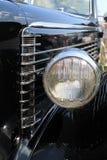 Headlamp i strony kapiszonu szczegół Obrazy Stock
