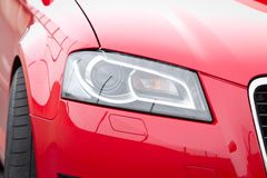 Headlamp on luxury car Stock Image