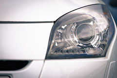 Headlamp on luxury car Stock Photo