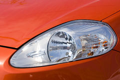 Headlamp on sports car Royalty Free Stock Photos