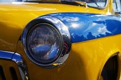 Headlamp stary Radziecki samochodowy Volga GAZ M-21 Zdjęcia Royalty Free