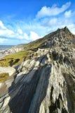 Headland пункта Morte стоковое фото
