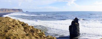 Headland Исландии стоковая фотография rf