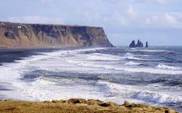 Headland Исландии стоковое изображение