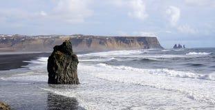 Headland Исландии стоковое изображение rf