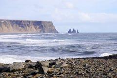 Headland Исландии стоковое фото rf