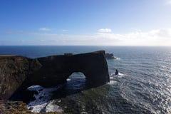 Headland Исландии стоковые изображения