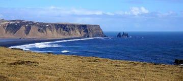 Headland Исландии стоковая фотография