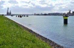 Headland на Rozenburg. стоковое фото rf