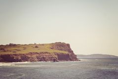 The Headland. Where the ocean meets the land Royalty Free Stock Images
