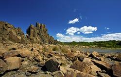 Headland Bombo, Kiama стоковое фото