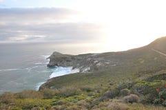 Headland at Cape Point National Park Stock Photo