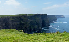 Headland at Cliffs of Moher Royalty Free Stock Image