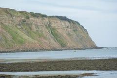 Headland on the english coastline Stock Photos