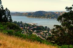 Headland of the Golden Gate National Recreation Area Royalty Free Stock Photo