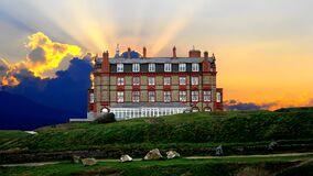 Headland Hotel Stock Photography