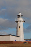 Lighthouse. The Headland Lighthouse in Hartlepool, England Royalty Free Stock Photo