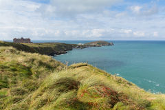 The Headland at Newquay Cornwall England UK Royalty Free Stock Photography