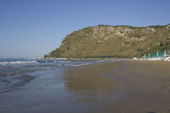 Headland of Terracina Italy Stock Image