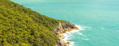 Headland In Wilsons Promontory. View of headland landscape from hiking trail in Wilsons Promontory National Park, Victoria, Australia Stock Photography