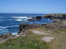 Headlands di Mendocino Immagine Stock Libera da Diritti