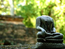 Headless Buddha figurine Royalty Free Stock Images