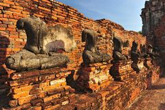 Headless Buddha ruins Royalty Free Stock Photo