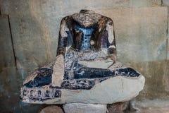 Headless buddha statue angkor wat cambodia Stock Images