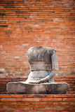 Headless buddha statue Stock Images